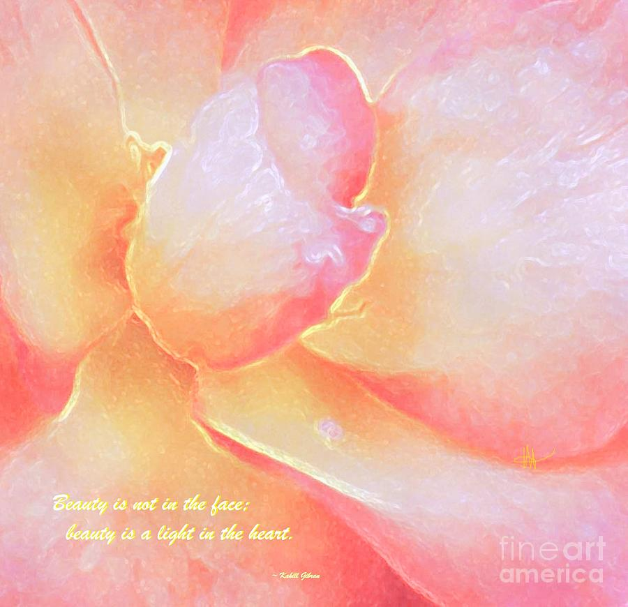 Beauty Is A Light In The Heart - Verse by Hazel Holland