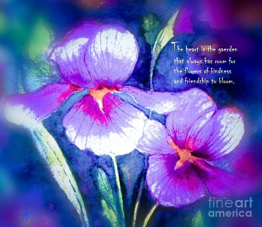 The Heart Is The Garden - Verse by Hazel Holland