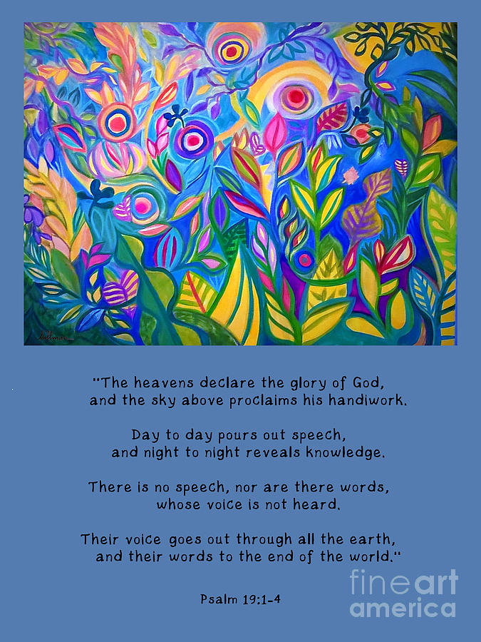 The Heavens Declare by A Hillman