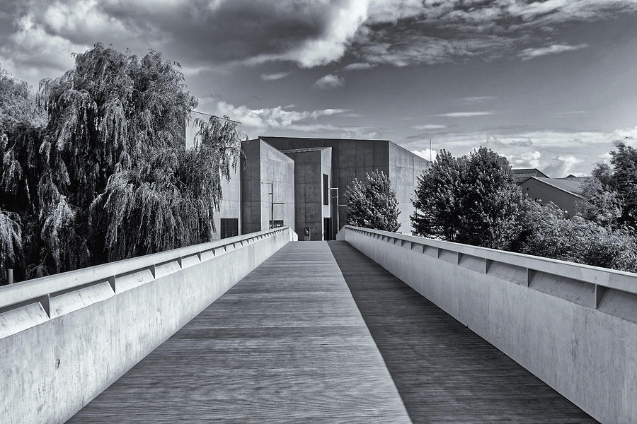 The Hepworth Gallery Monochrome by Jeff Townsend