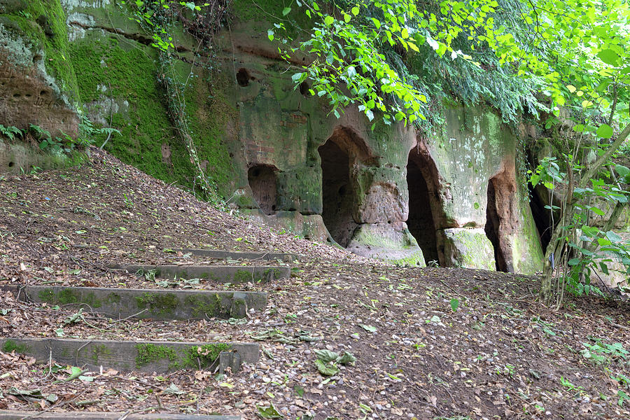 Hermitage Photograph - The Hermits Cave by Steev Stamford