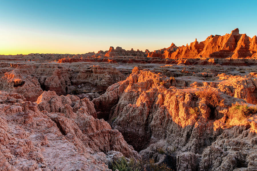 Badlands Photograph - The High And Low Of The Badlands by Jim Thompson