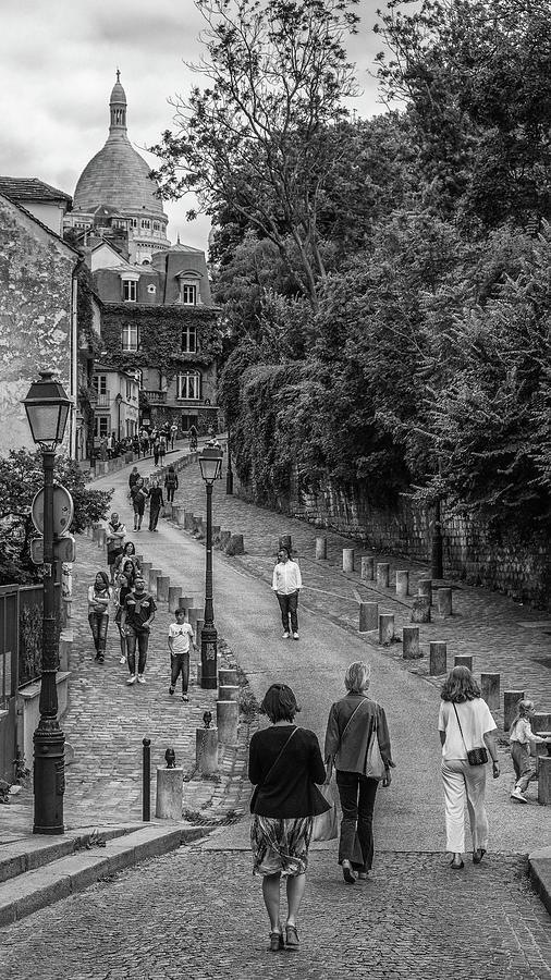 The Hill to MonMatre by Matthew Pace