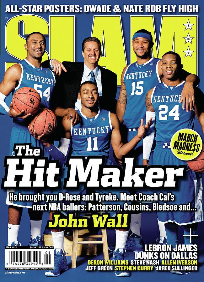 John Wall Photograph - The Hit Maker: John Wall, Patterson, Cousins, Bledsoe SLAM Cover by Atiba Jefferson