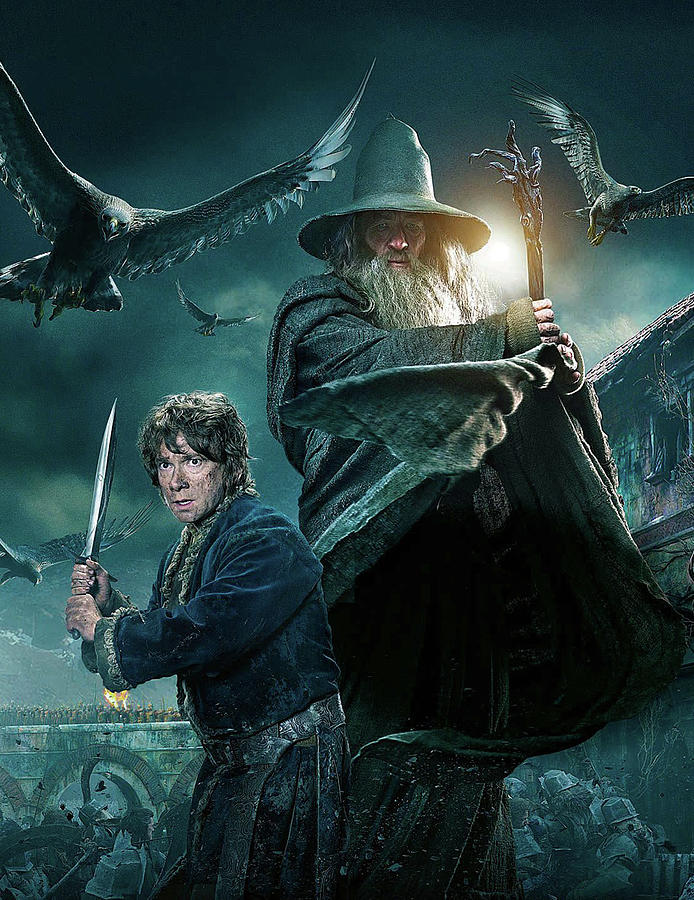 The Hobbit The Battle Of Five Armies 2014 7 Digital Art By Geek N Rock