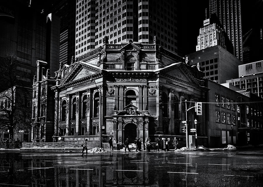 The Hockey Hall Of Fame Toronto Canada Reflection by Brian Carson