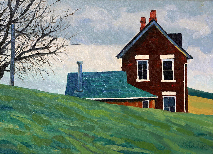 431 Painting - The Homestead by Phil Chadwick