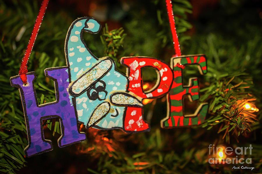 The Hope Of Christmas Jesus Christ Art Photograph By Reid Callaway