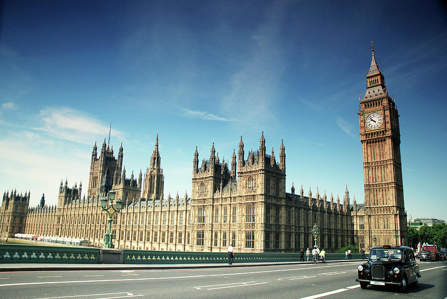 The Houses Of Parliament & Big Ben Photograph by Cezary Zarebski Photogrpahy