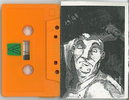 The Howling Cassette/orange by Kasey Jones