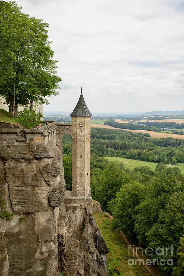 The Hunger tower of the medieval Konigstein Fortress in Germany  by Patricia Hofmeester