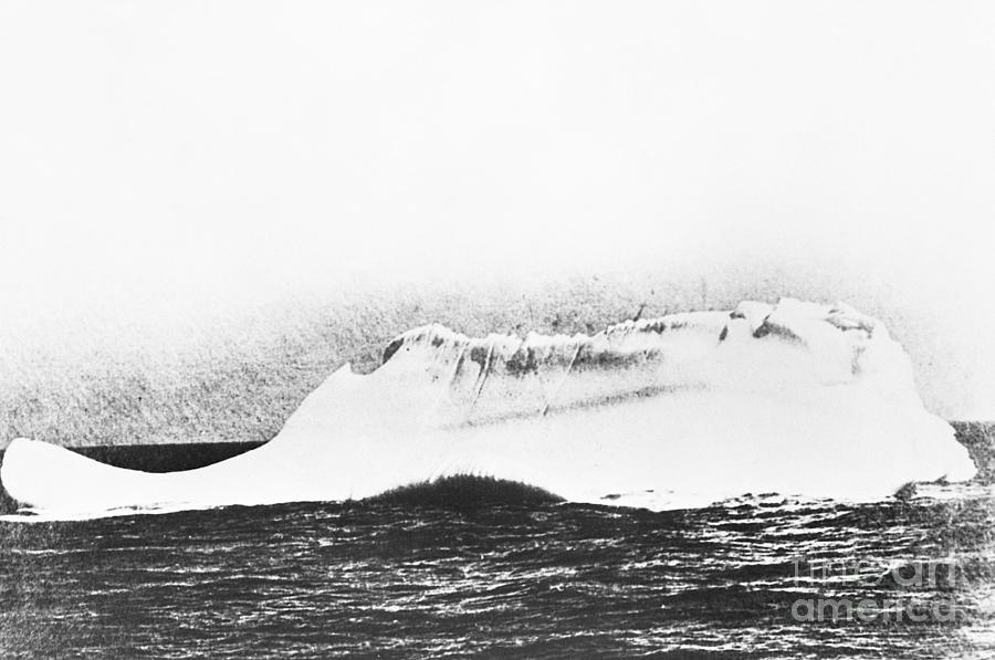 The Iceberg That Sank The Titanic Photograph by Bettmann