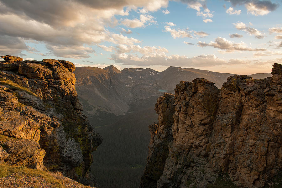 Rocky Mountain National Park Photograph - The Ida Group At Sunset by Aaron Spong