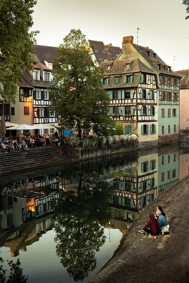 The Ill in the Petite France quarter of Strasbourg by RicardMN Photography