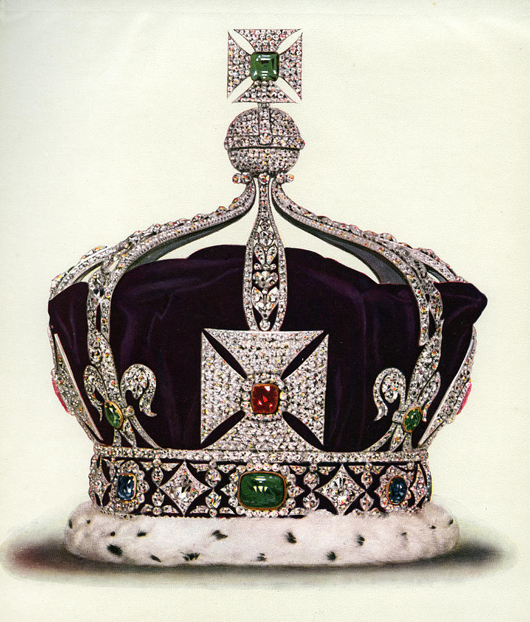 The Imperial Crown Of India Photograph by Graphicaartis