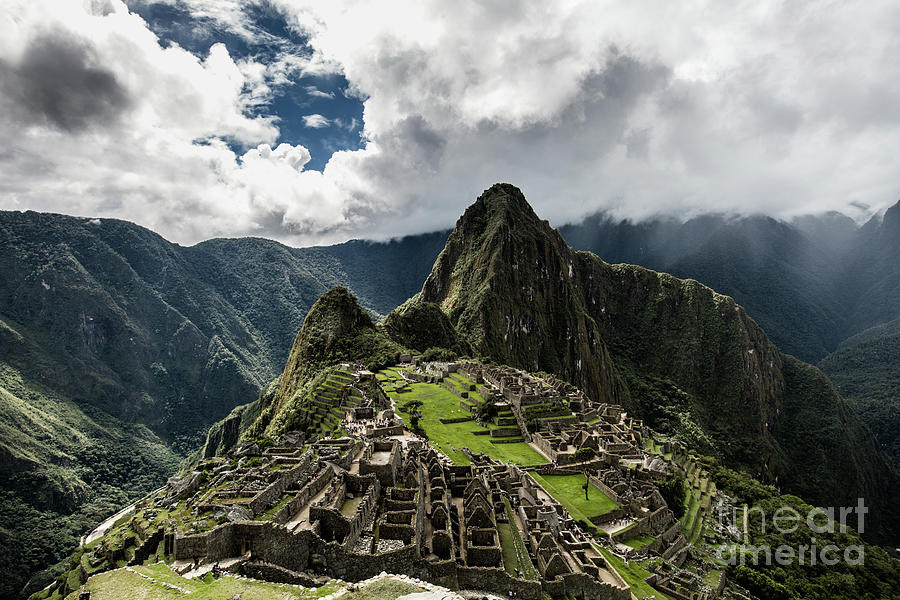 The Inca Trail, Machu Picchu, Peru Photograph by Kevin Huang
