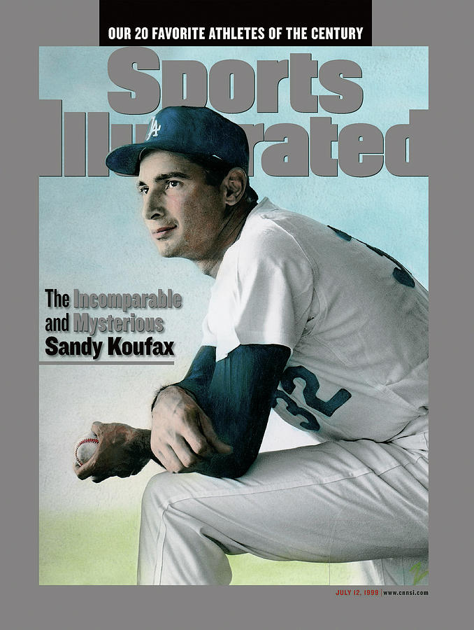 The Incomparable And Mysterious Sandy Koufax Sports Illustrated Cover Photograph by Sports Illustrated