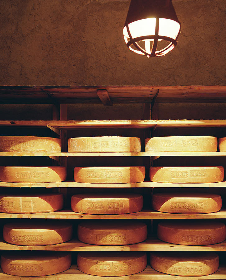The Interior Of A Cheese Room Photograph by Joao Canziani
