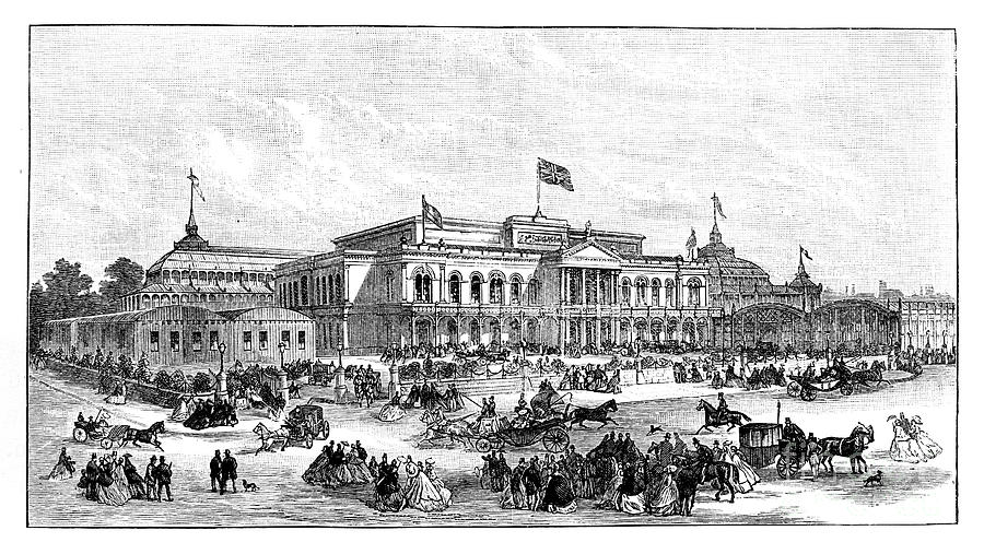 The International Exhibition, Dublin Drawing by Print Collector