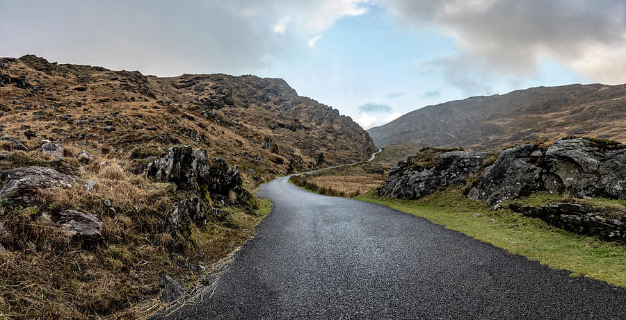 The Irish road to the Pass  by John McGraw