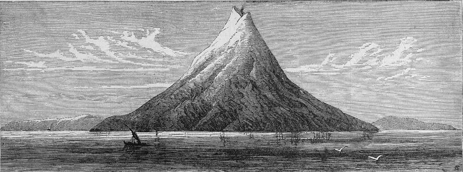 The Island Of Krakatoa Photograph by Kean Collection