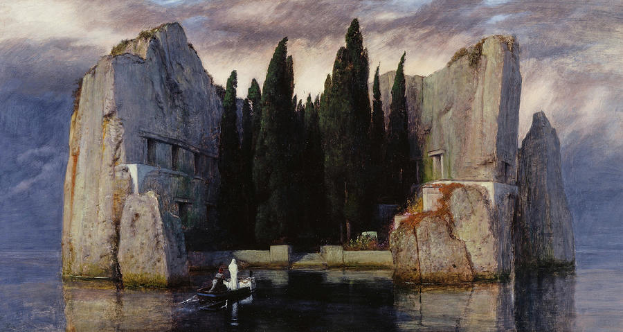 Arnold Bocklin Painting - The Isle of the Dead, 1883 by Arnold Bocklin