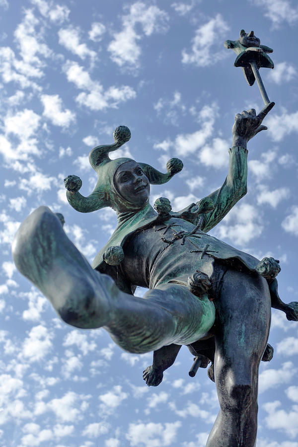 The Jester in Stratford by Paul Cowan