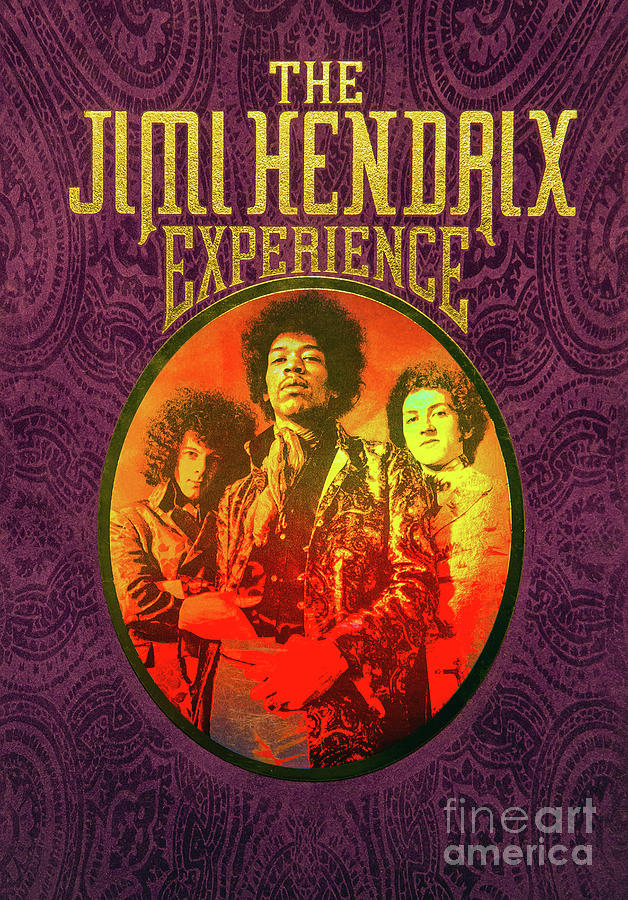 The Jimi Hendrix Experience by Kevin McCarthy