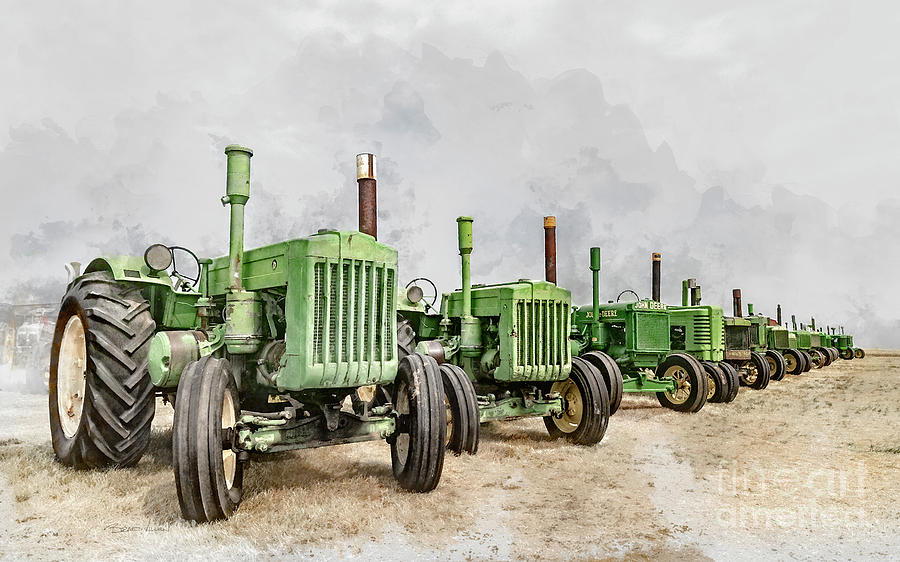 The John Deere Collection by Brad Allen Fine Art
