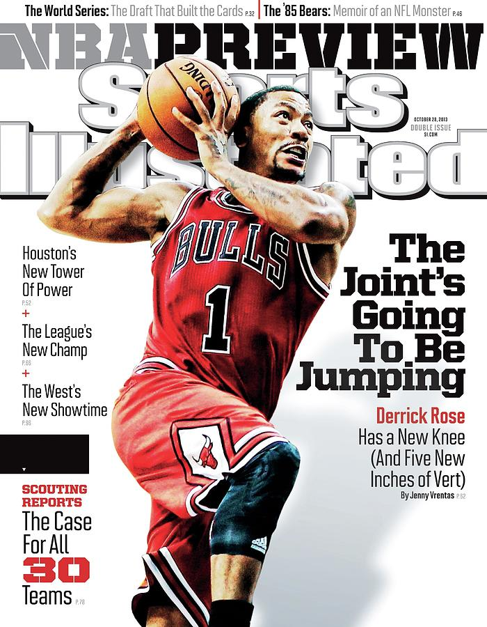 The Joints Going To Be Jumping 2013-14 Nba Basketball Sports Illustrated Cover Photograph by Sports Illustrated