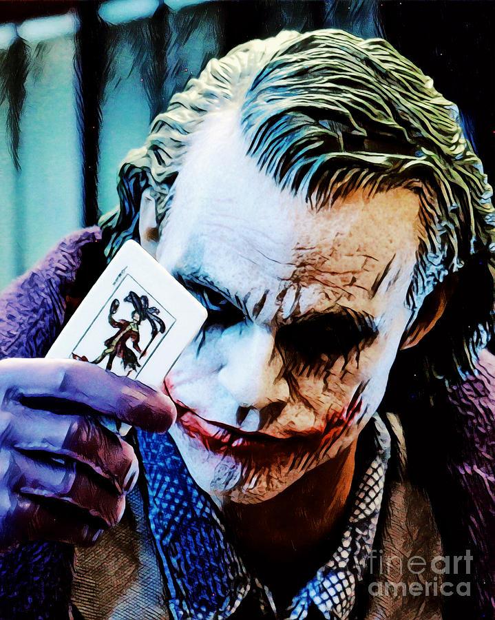 Halloween Joker Card.The Joker Card By Pixel Chimp