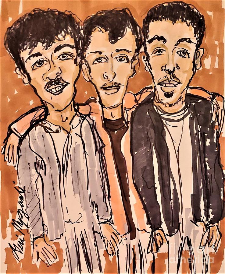 The Jonas Brothers Mixed Media