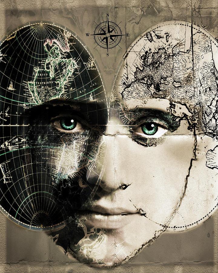 The Journey Mixed Media - The Journey by Dana Brett Munach
