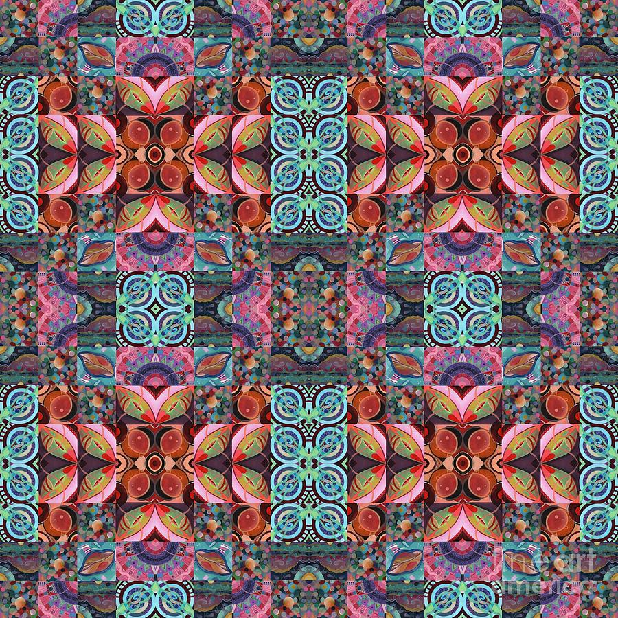 The Joy of Design Mandala Series Puzzle 7 Arrangement 7 Compilation by Helena Tiainen