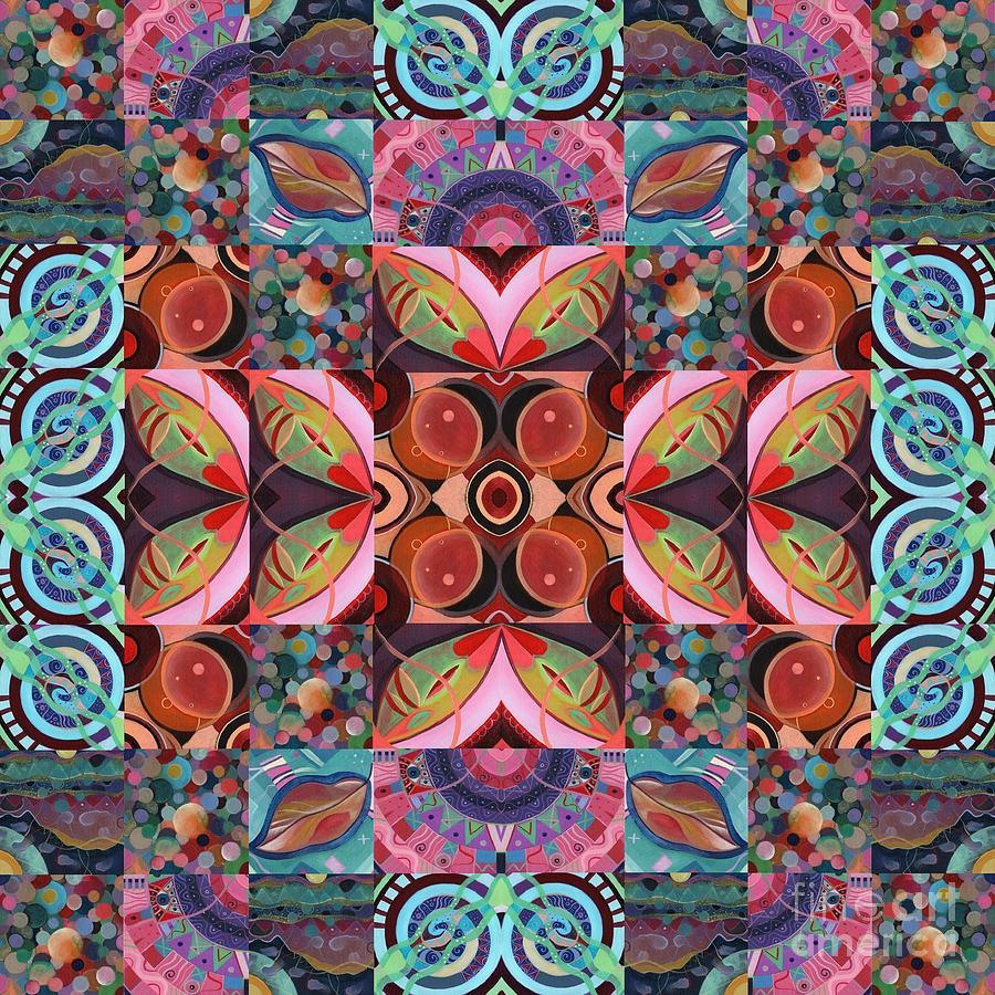 The Joy of Design Mandala Series Puzzle 7 Arrangement 7 by Helena Tiainen