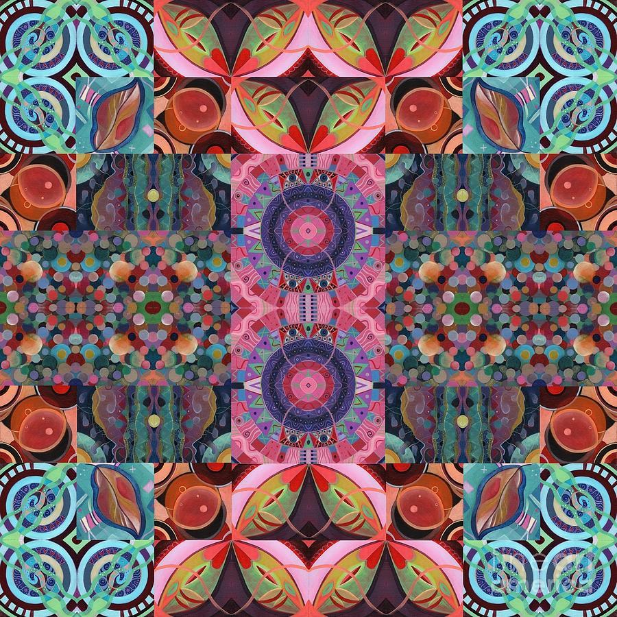 The Joy of Design Mandala Series Puzzle 7 Arrangement 9 by Helena Tiainen