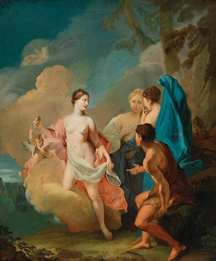 The Judgment of Paris by Johann Heinrich Tischbein