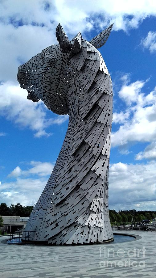 The Kelpies 3 by Joan-Violet Stretch
