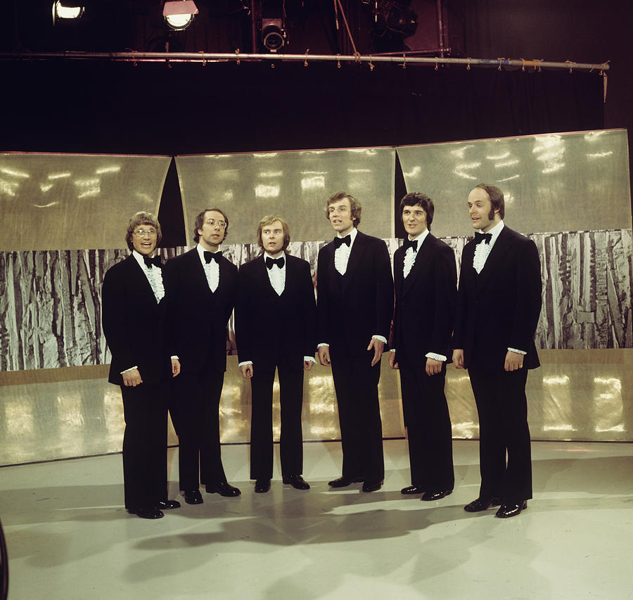 The Kings Singers Perform On Tv Show Photograph by Tony Russell