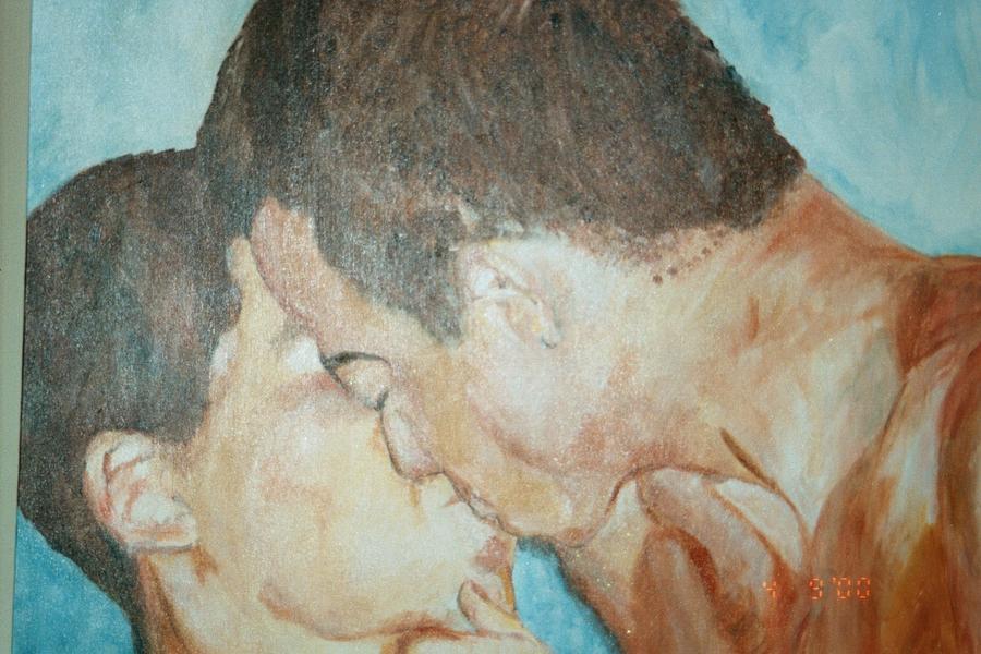 The Kiss by John Carroll