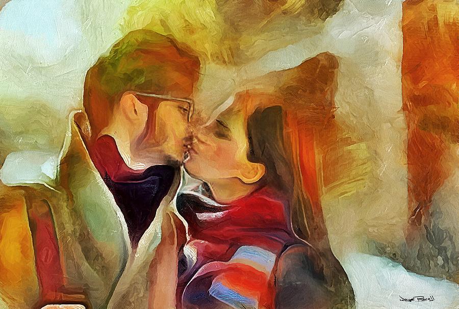 The Kiss by Wayne Pascall