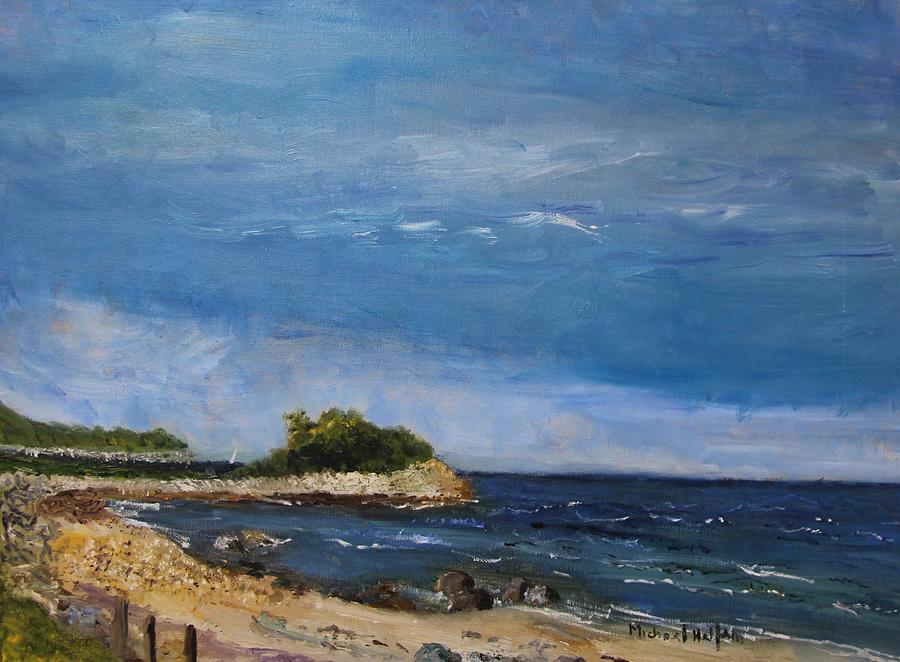 The Knob, Falmouth by Michael Helfen