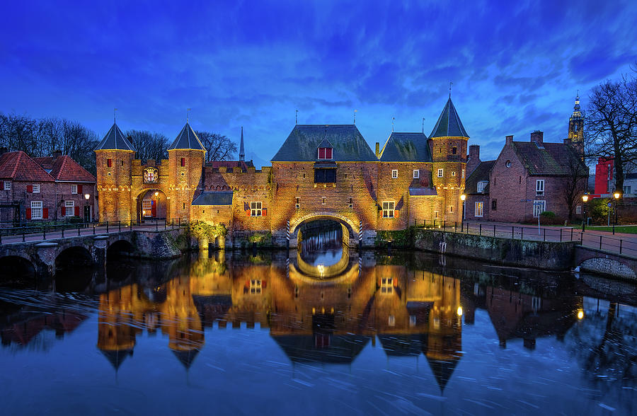 The Koppelpoort Amersfoort by Mario Visser
