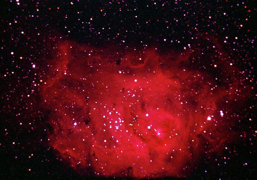 The Lagoon Nebula In Sagittarius Photograph by A. V. Ley