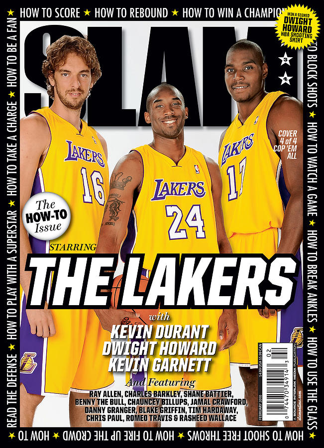 The Lakers SLAM Cover Photograph by Getty Images