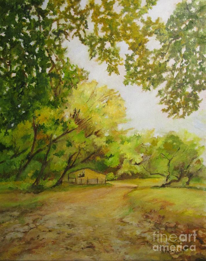 The Lane Less Traveled by Barbara Moak