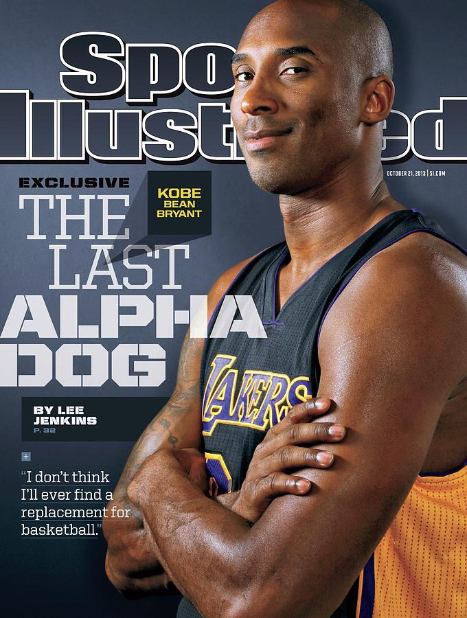 The Last Alpha Dog Sports Illustrated Cover Photograph by Sports Illustrated