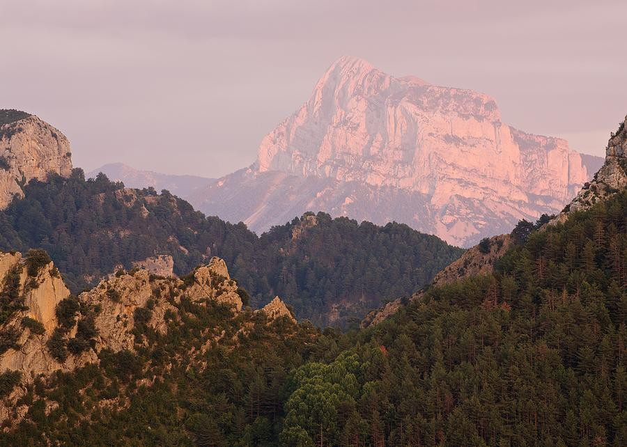 The Last of the Light at Pena Montanesa by Stephen Taylor