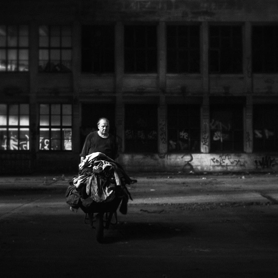 Mood Photograph - The Last Shift by Holger Droste