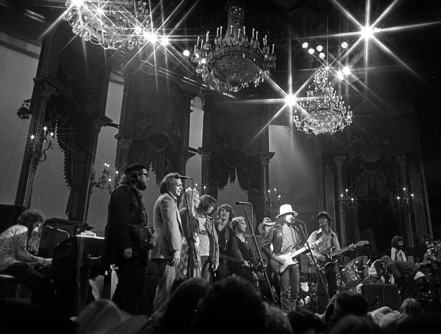The Last Waltz Concert Photograph by Michael Ochs Archives